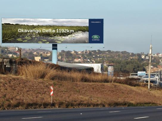 Land Rover Outdoor Ad -  Okavango Delta