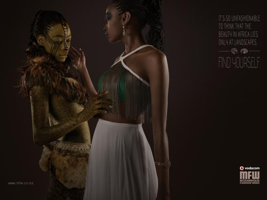 Mozambique Fashion Week Print Ad -  Landscapes