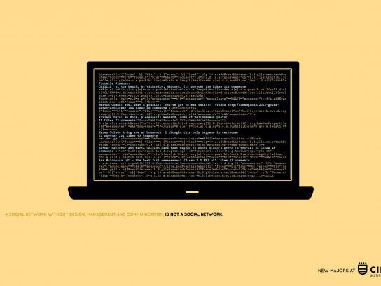 Cibertec Print Ad -  Laptop