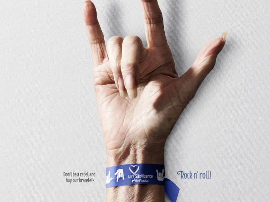Lar São Vicente de Paula Print Ad -  The newest trend is the trend of elderly, 3