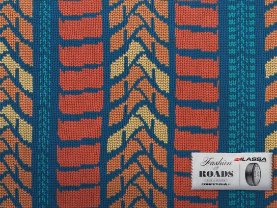 Lassa Tyres Print Ad -  Road Fashion, 2