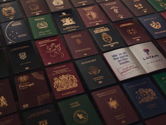 Latam Print Ad - Passports