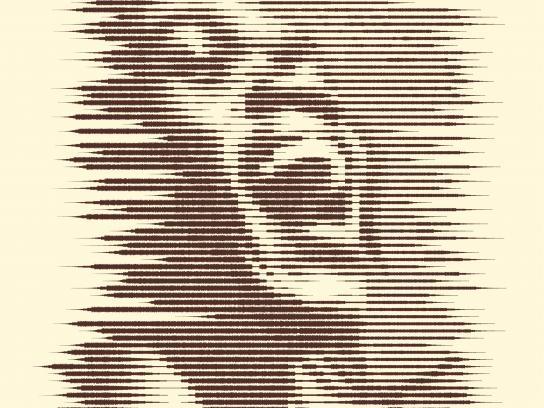 VON Print Ad - Sound Waves - Laughter