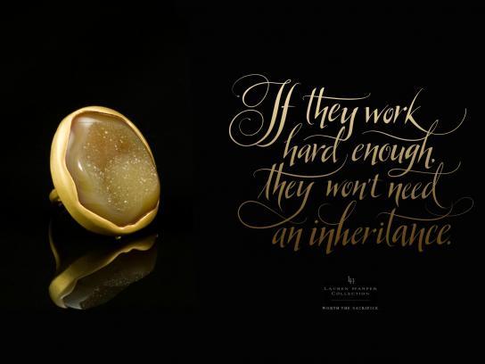 Lauren Harper Print Ad -  Inheritance