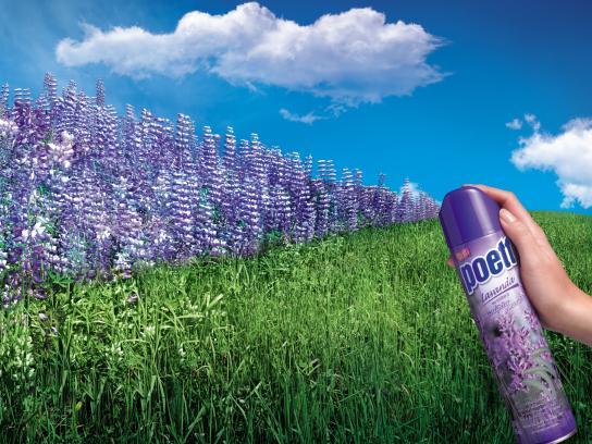 Poett Print Ad -  Lavender