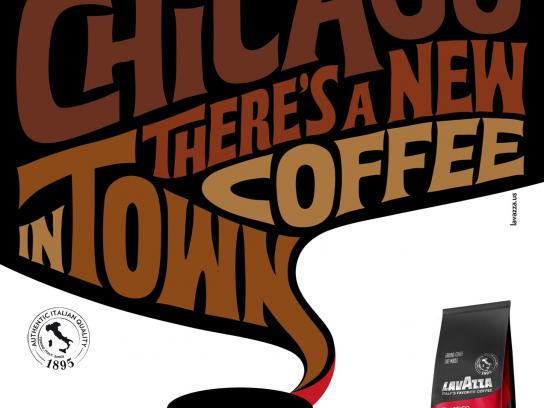 Lavazza Print Ad -  Chicago