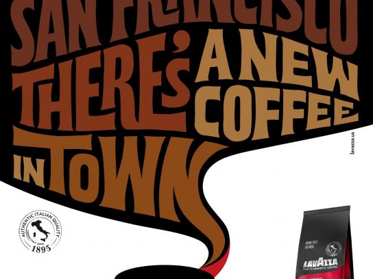 Lavazza Print Ad -  San Francisco