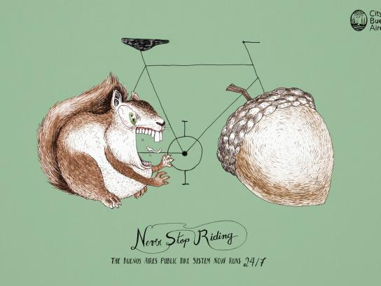 City of Buenos Aires Print Ad -  Never stop riding, 4