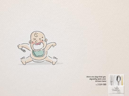 Villa Fontana Print Ad -  Baby
