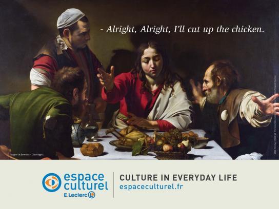 Espace Culturel Outdoor Ad -  Chicken