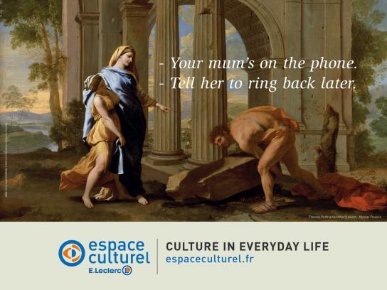 Espace Culturel Outdoor Ad -  Phone
