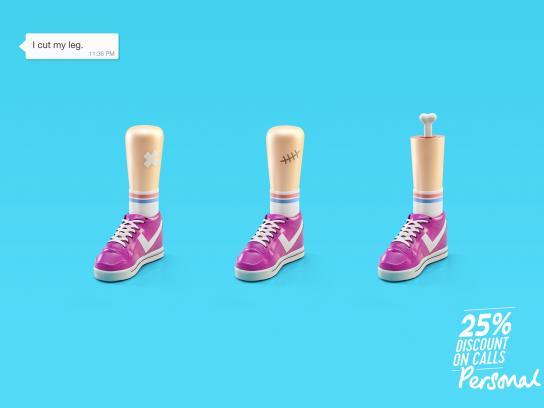 Personal Print Ad - Leg