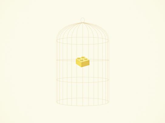 Lego Print Ad -  Canary
