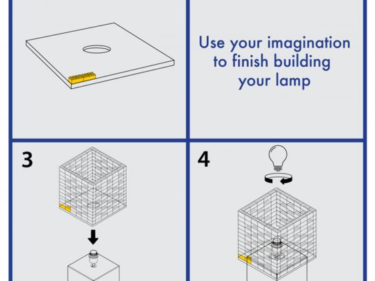 IKEA Integrated Ad - LËGO Blueprints, Brain Building Through Design