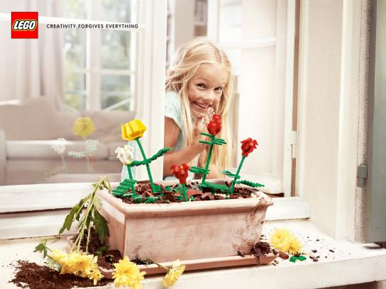 Lego Print Ad -  The Flowers