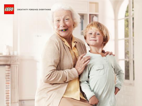 Lego Print Ad -  The Granny