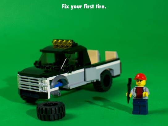 Lego Print Ad - Your First Time Is Always With Us, 1