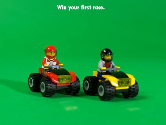 Lego Print Ad - Your First Time Is Always With Us, 2