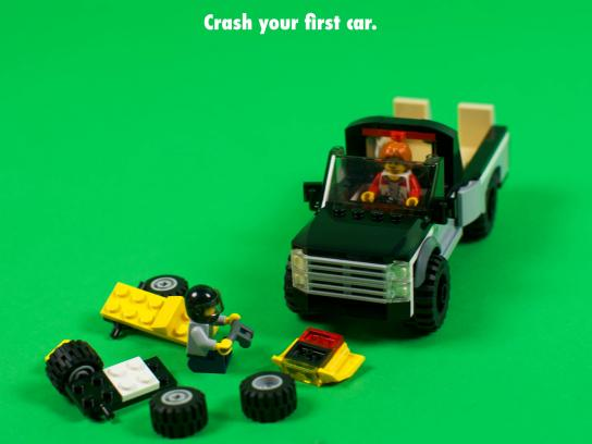 Lego Print Ad - Your First Time Is Always With Us, 3