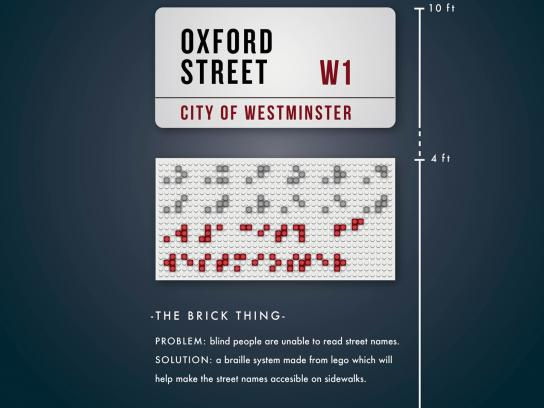 Lego Ambient Ad -  The brick thing
