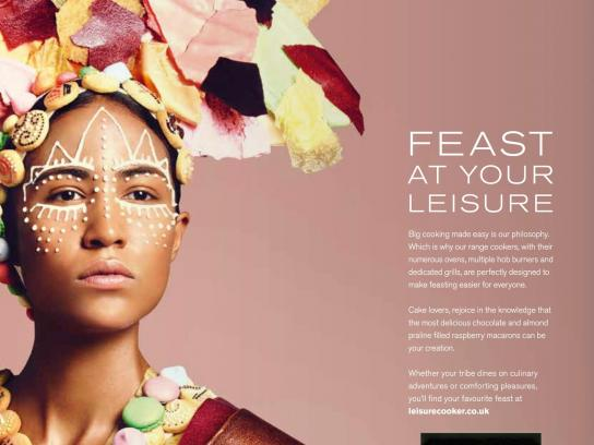 Leisure Print Ad -  Food tribes, 1