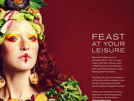 Leisure Print Ad -  Food tribes, 4