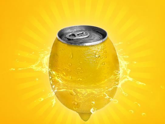 Fanta Print Ad - Lemons