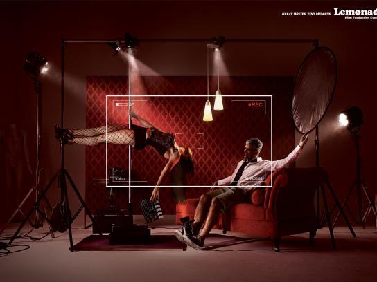 Lemonade Film Production Company Print Ad -  Erotic