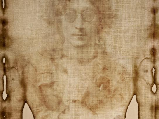 Radioacktiva Print Ad - John Lennon's Shroud
