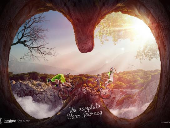 Leo Pharma Print Ad - We Complete your Journey