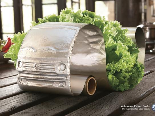 Volkswagen Print Ad -  Lettuce