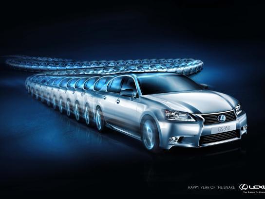 Lexus Print Ad -  Lexus Chinese New Year