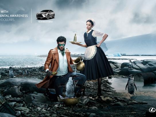 Lexus Print Ad - Penguins