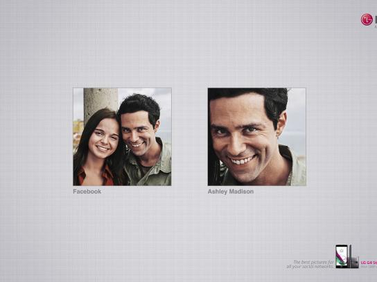 LG Print Ad - Facebook - Ashley Madison