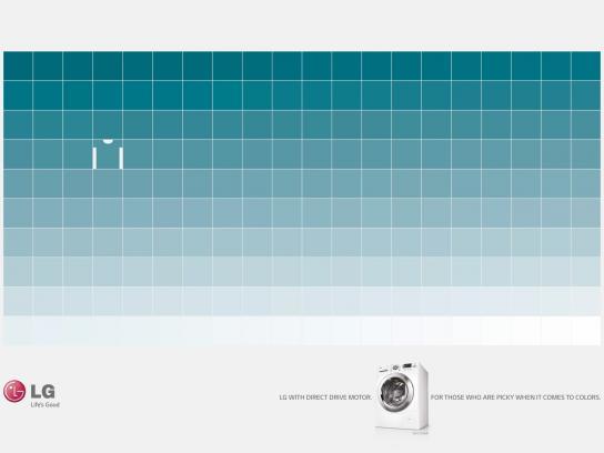 LG Print Ad -  Blue