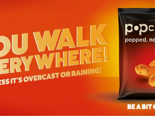 Popchips Print Ad -  Be a bit good, 4