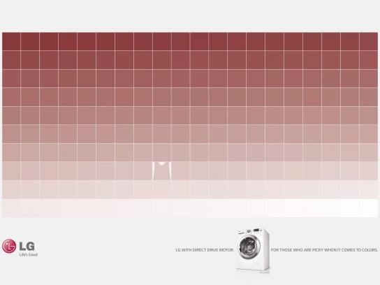 LG Print Ad -  Red