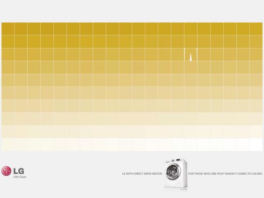 LG Print Ad -  Yellow