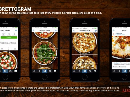 Pizzeria Libretto Digital Ad -  Librettogram
