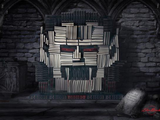 Libri Mundi Print Ad -  Vampire
