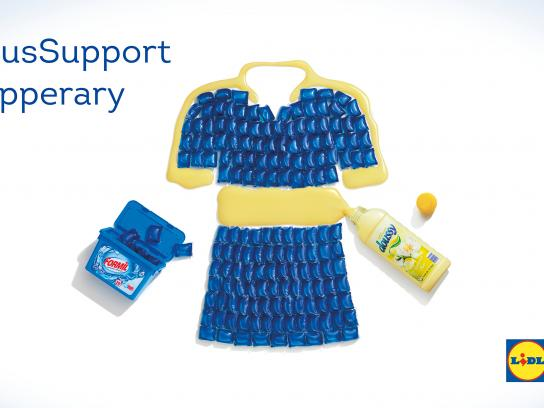 Lidl Outdoor Ad - Serious Support for Tipperary
