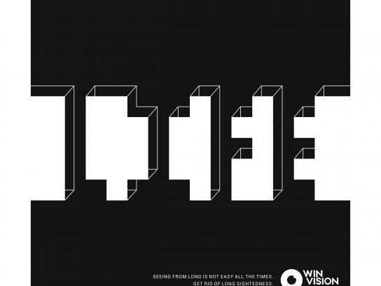 Win Vision Eye Hospital Print Ad - Life