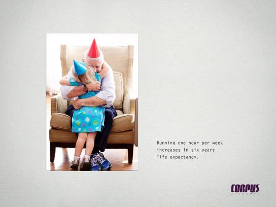 Corpus Academia Print Ad - Life expectancy