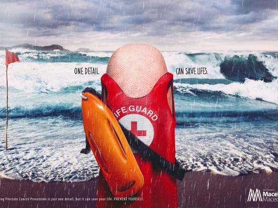 Doctor Macel Macedo Print Ad - Lifeguard