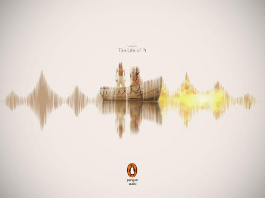 Penguin Print Ad - Life of Pi