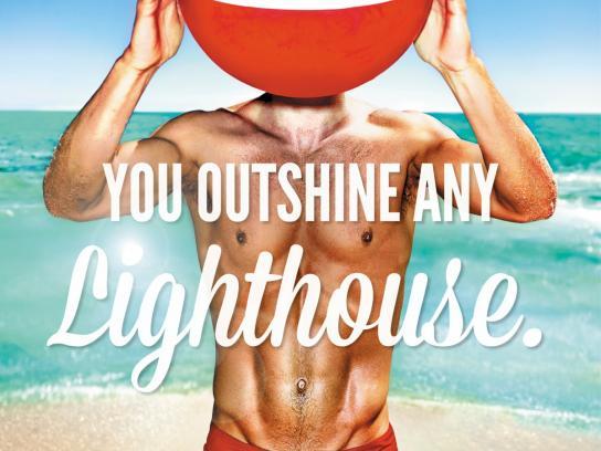 Virgin Print Ad -  Lighthouse