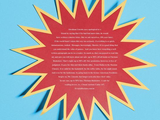 Floriano Bookstore Print Ad -  Lincoln