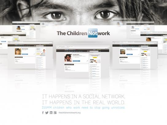 Advertisers Without Borders Digital Ad -  The Children Notwork