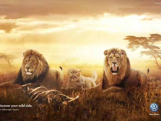 Volkswagen Print Ad -  Lions