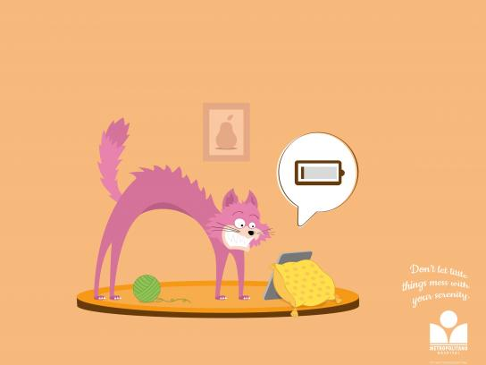 Hospital Metropolitano Print Ad -  Little Things, Cat